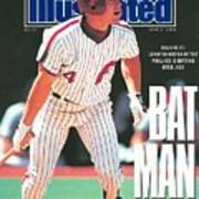 Philadelphia Phillies Lenny Dykstra... Sports Illustrated Cover Art Print