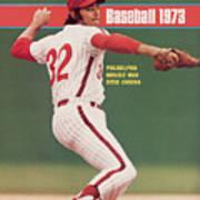 Philadelphia Phillies Steve Carlton... Sports Illustrated Cover Art Print