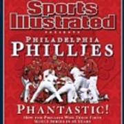Philadelphia Phillies Vs Tampa Bay Rays, 2008 World Series Sports Illustrated Cover Art Print