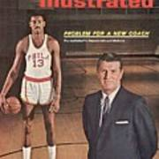 Philadelphia Warriors Coach Frank Mcguire And Wilt Sports Illustrated Cover Art Print