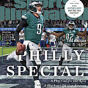 Philly Special The Eagles, Super Bowl Lii Champs Sports Illustrated Cover Art Print