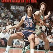 Phoenix Suns Alvan Adams, 1976 Nba Finals Sports Illustrated Cover Art Print