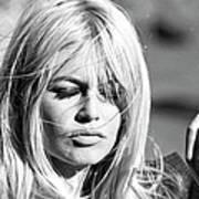 Photo Of Brigitte Bardot Art Print