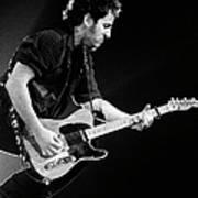 Photo Of Bruce Springsteen Art Print