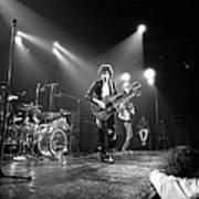 Photo Of Led Zeppelin And Robert Plant Art Print