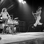 Photo Of Pete Townshend And Roger Art Print