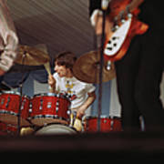 Photo Of Who And Keith Moon Art Print