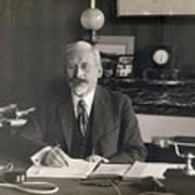 Physicist Edward Guillaume Art Print