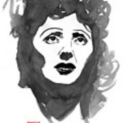 Piaf Art Print