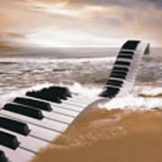 Piano Fantasy Art Print