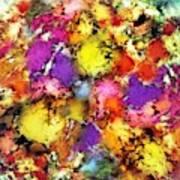 Pigment Noise Art Print