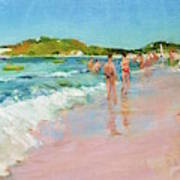 Pineapple Beach, Antigua Art Print