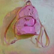 Pink Bag Art Print