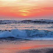 Pink Sunrise Panorama Art Print