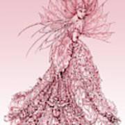 Pink Sussurus Art Print