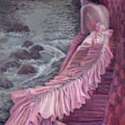 Pink Taffeta Art Print