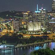 Pittsburgh Lights Art Print