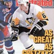 Pittsburgh Penguins Mario Lemeiux... Sports Illustrated Cover Art Print