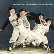Pittsburgh Pirates Roy Face Sports Illustrated Cover Art Print