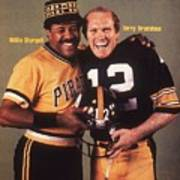Pittsburgh Pirates Willie Stargell And Pittsburgh Steelers Sports Illustrated Cover Art Print