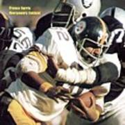 Pittsburgh Steelers Franco Harris, 1974 Afc Championship Sports Illustrated Cover Art Print