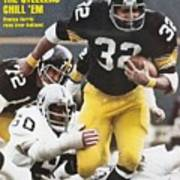 Pittsburgh Steelers Franco Harris, 1976 Afc Championship Sports Illustrated Cover Art Print