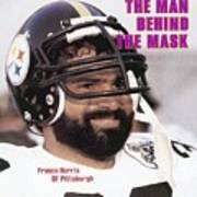 Pittsburgh Steelers Franco Harris Sports Illustrated Cover Art Print