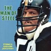 Pittsburgh Steelers Jack Lambert. Sports Illustrated Cover Art Print