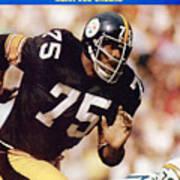 Pittsburgh Steelers Joe Greene... Sports Illustrated Cover Art Print