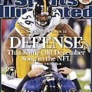 Pittsburgh Steelers Lamarr Woodley... Sports Illustrated Cover Art Print