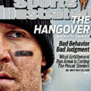 Pittsburgh Steelers Qb Ben Roethlisberger... Sports Illustrated Cover Art Print