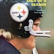 Pittsburgh Steelers Qb Terry Bradshaw Sports Illustrated Cover Art Print