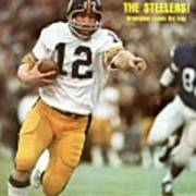 Pittsburgh Steelers Qb Terry Bradshaw, Super Bowl Ix Sports Illustrated Cover Art Print