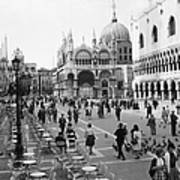 Place, San Marco Place At Venise In Art Print