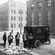 Police Load Van With Communist Art Print