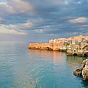 Polignano A Mare On The Adriatic Sea Art Print