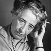 Political Theorist Hannah Arendt Art Print