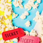Popcorn Culture Art Print