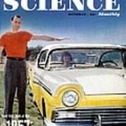 Popular Science Magazine Covers Art Print