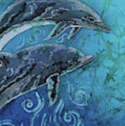 Porpoise Pair - Close Up Art Print