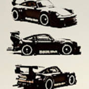 Porsche Rwb 930 Art Print
