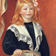 Portrait De Jean Renoir Art Print