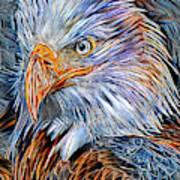 Portrait Of A Watchful Eye Art Print