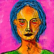Portrait Of A Woman 1139 Art Print