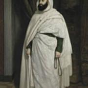 Portrait Of Abdelkader Ibn Muhieddine Art Print