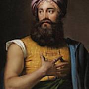 Portrait Of Giovanni Belzoni Art Print