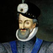 Portrait Of Henry Iv King Of France Detail Art Print