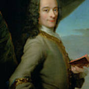 Portrait Of The Young Voltaire  Art Print