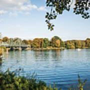 Potsdam - Havel River / Glienicke Bridge Art Print