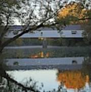 Potter's Bridge, Noblesville, Indiana Art Print